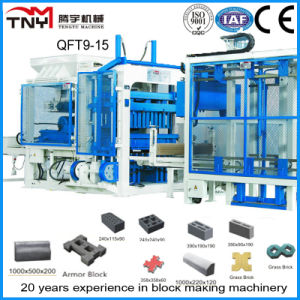 Qt9-15 Multi-Function Hydraulic Concrete Brick Making Machine pictures & photos