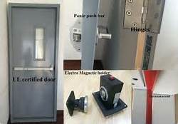 Steel Fire Door with UL Certified of Deliate Handcraft pictures & photos