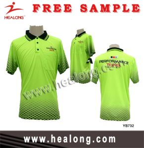 Healong Polyester Full Dye Sublimated Polo Shirts pictures & photos