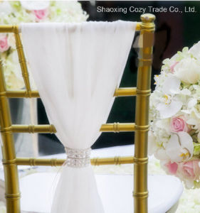 Nice Fashion Chair Sashes for Wedding Banquet pictures & photos