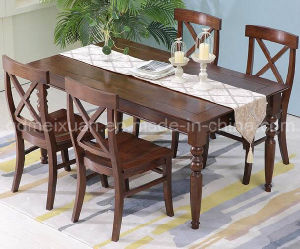Solid Wooden Dining Desk Living Room Furniture (M-X2368) pictures & photos