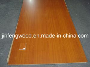 ISO9001: 2008 Melamine MDF Cherry Color E1/E2 Glue Cabinet pictures & photos