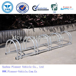 High Quality Hot-Dipped Galvanizing Bicycle Display Rack (ISO Certified) pictures & photos