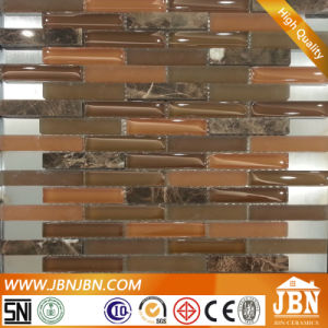 Kitchen Border Emperador and Dark Brown Glass Mosaic (M857003) pictures & photos