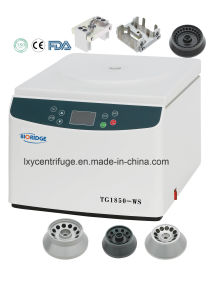 Tabletop High Speed Centrifuge (TG1850-WS) pictures & photos