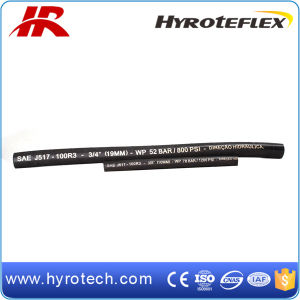SAE 100r3 High Pressure Rubber Hose Hydraulic Hose pictures & photos