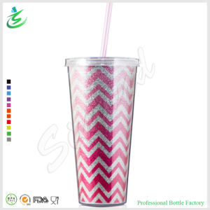 24oz Premium Shiny Plastic Tumbler with Glitter (TB-A1-5) pictures & photos