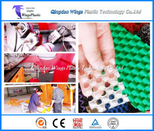 Plastic PVC Floor Sheet Extruder Machine / PVC Anti Slip Flooring Mat Production Line pictures & photos