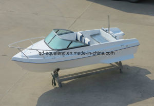 China Aqualand 15feet 4.6m Fiberglass Speed Boat/Bowrider Motor Boat (150br) pictures & photos