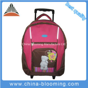 Trolley Wheeled School Student Backpack Bag for Study Traveling pictures & photos
