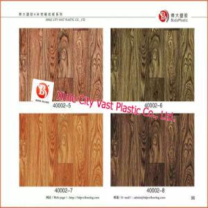 Wood Grain Lienoleum PVC Vinyl Flooring pictures & photos