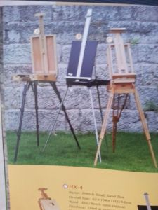 Masteroidsdouble-Desk Easel / Heavy Duty Studio Easel (NH07007) pictures & photos