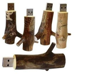 Cylindrical Wooden Flash Drive USB with Cap, Hot Sales, Popular pictures & photos