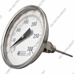 All Stainless Steel Bimetal Thermometer Adjustable- Angle 0+300c pictures & photos