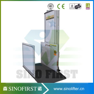 3.5m Electric Domestic Wheelchair Lift Platform Home Lift Table pictures & photos