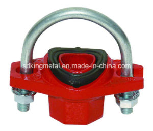Ductile Iron 300psi NPT Threaded U Bolt Mechanical Tee pictures & photos