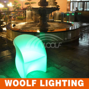 Park Decoration Illuminated Color Changing LED Chair pictures & photos