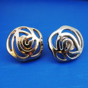 Flower Shape Jeans Metal Sewing Button for Garment (HSB00082) pictures & photos