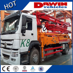 Hot Orering Lower Price 21m 25m 28m 33m Concrete Pump Truck pictures & photos