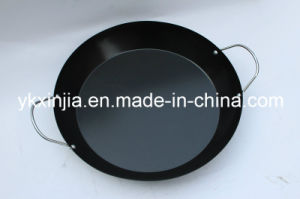 Kitchenware Carbon Steel Non-Stick Coating Paella Pan pictures & photos