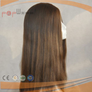 Charming 100% Human Hair Jewish Silk Top Sheitel Wig pictures & photos