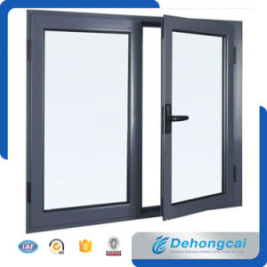 Cheap Price Aluminum Glass Window Design with Thermal Break pictures & photos