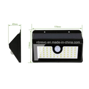 45 LED Waterproof Solar PIR Security Garden Light (RS2014) pictures & photos