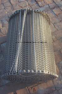 Spiral Freezer Mesh Conveyor Belt pictures & photos