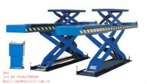 Two Level Platform Hydraulic Scissor Auto Lift/Car Lift for Alignment pictures & photos