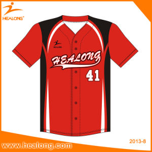 Any Logo Size Team Baseball Jersey Suit Sets pictures & photos