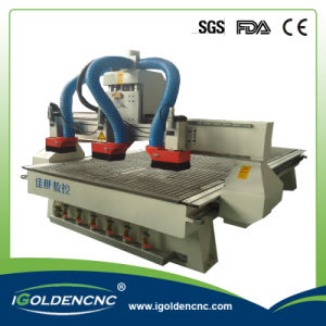 Vacuum Table Wood CNC Router with Multi Spindles pictures & photos