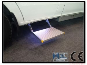 Electric Folding Stairs for Car and Caravan CE Certificate pictures & photos