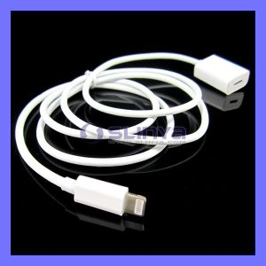 1m USB 2.0 Male to Female Charge Sync 8 Pin Extension Cable for iPhone 6 6s 5 iPad 5 4 Lightning USB Cable Cord (SL-C37) pictures & photos