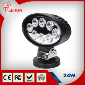 Popular Round 24W Epistar LED Work Light for Truck LED Work Light pictures & photos