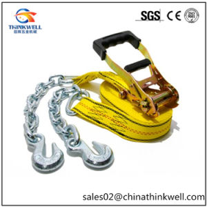 Truck Cargo Polyester Securing Tie Down Strap pictures & photos