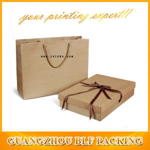 Brown Kraft Paper Box and Paper Bags pictures & photos