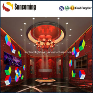 Wedding Decoration DJ Lighting 3D Effect LED Wall Panel Light pictures & photos