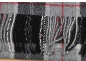 100% Yak Wool Scarf / Men′s Yak Wool Scarf / Plaid Yak Cashmere Wool Scarf pictures & photos