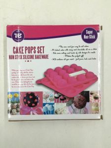 Non Stick Silicone Cake Bakeware Pops Mold pictures & photos