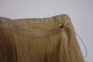 High Quality Flip in Weft Extension Remy Human Hair pictures & photos