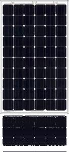 30V 280W Bifacial Monocrystalline PV Module (SL280TU-30ND) pictures & photos