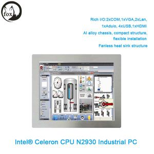 Shenzhen Wall Mount Industrial PC X86 Embedded Computer X86 Industrial Touch Panel PC N2930 Processor From China pictures & photos