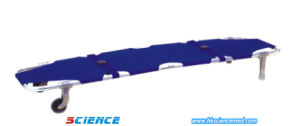 Aluminum Two Foldaway Ambulance Stretcher (SC-ES06) pictures & photos