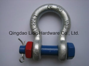 Alloy Screw Pin Bolt Type Round Pin Anchor Screw Pin Chain Shackle pictures & photos