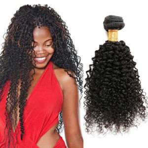 7A Unprocessed Malaysian Kinky Curly Virgin Hair Human Hair Extensions pictures & photos