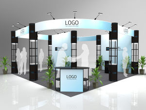 6X6 Folding Column Fabric Exhibition Booth pictures & photos