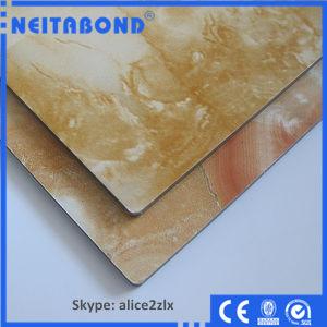 Interior and Exterior Decoration Acm Aluminum Composite Panel with Marble/Stone/Granite Design pictures & photos