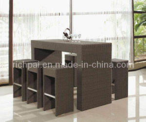 Rattan Bar Set