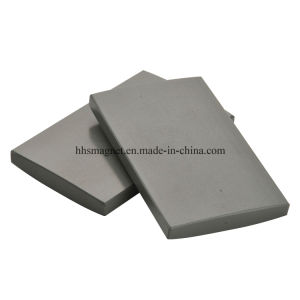 Promotional Motors Permanent Sintered Block Ferrite Magnet pictures & photos