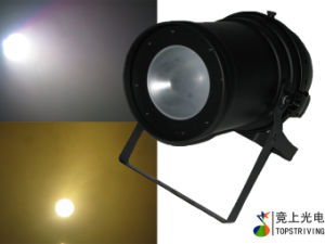 LED Stage Lighting / COB PAR Can with 200W Cold White and Warm White
